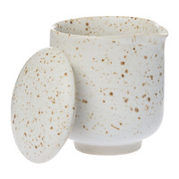 Speckle Jug - White