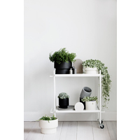 Podium Pot - Flat Black