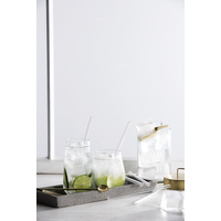 Glass Drinking Straws - Set of 6