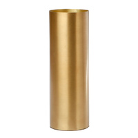 Polished Brass Vase