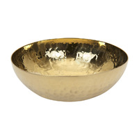 Hammered Brass Bowl