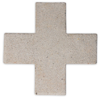 Cross Concrete Trivet - Natural