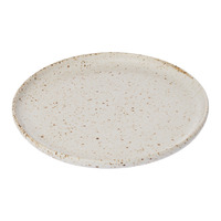 Speckle Serving Platter - Large White