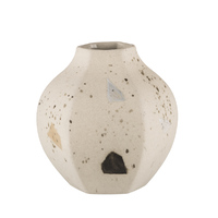 Carved Vase Rounded  - Confetti