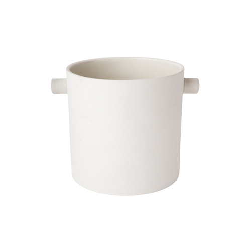 Handle Pot - Large White
