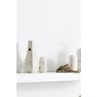 Carved Vase Straight  - Natural
