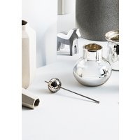 Stem Tea Strainer - Silver