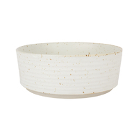 Speckle Bowl - Large Snow