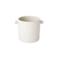 Handle Pot - Small White