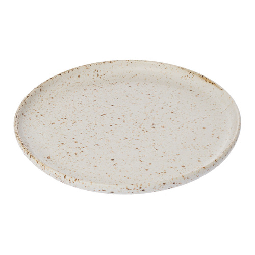 Speckle Serving Dish - Small White