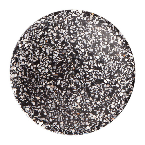 Terrazzo Dimple Tray - Medium Black