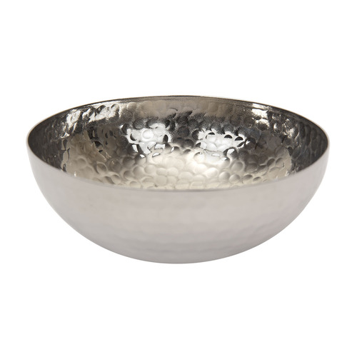 Hammered Bowl - Silver